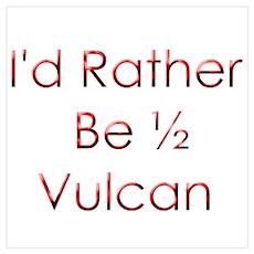 Half Vulcan Poster