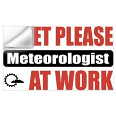 Meteorologist Work Wall Decal