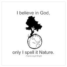 I believe in God... Poster