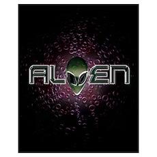 ALIEN Logo T04 Poster