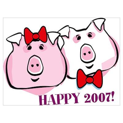 'Happy Couple 2007' Poster