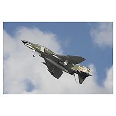F4 Phantom in Flight! Poster