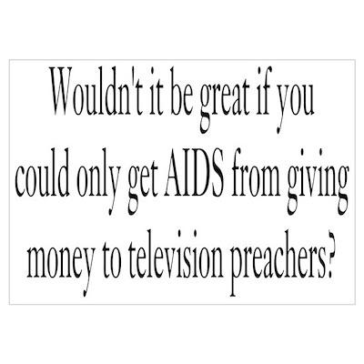 Television Preachers Poster