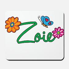 Zoie Flowers Mousepad