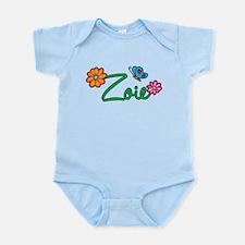 Zoie Flowers Infant Bodysuit