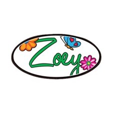 Zoey Flowers Patches