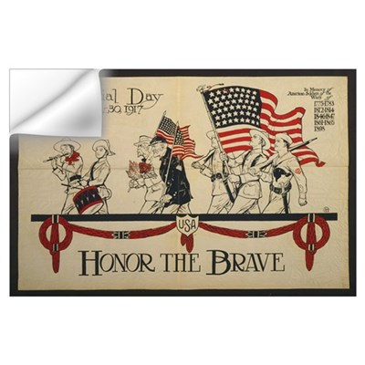 Honor the Brave Wall Decal