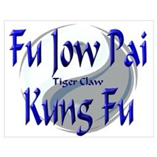 Fu Jow Pai Kung Fu Poster