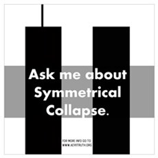 Symmetrical Collapse Poster
