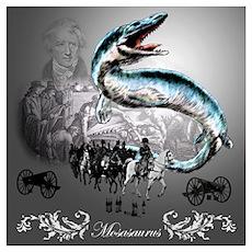 Mosasaurus Poster