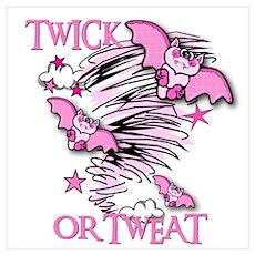TWICK OR TWEAT Poster