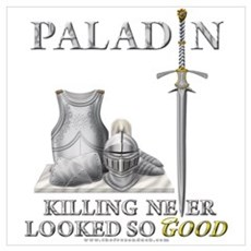 Paladin - Good Framed Print