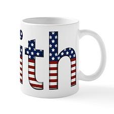 Faith Stars and Stripes Mug