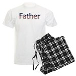Father Stars and Stripes Men's Light Pajamas