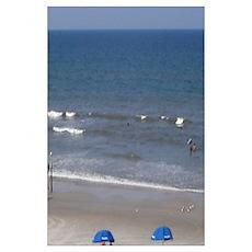 Daytona Beach Surf Poster