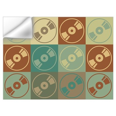 Audio and Video Pop Art Wall Decal