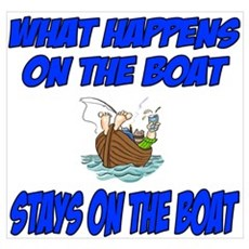 What happens on the boat Poster