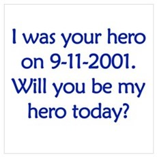 I was your hero Poster