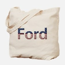 Ford Stars and Stripes Tote Bag