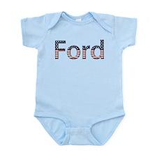 Ford Stars and Stripes Infant Bodysuit