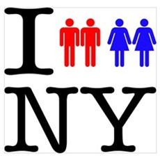 New York Gay Marriage Poster