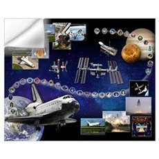 Atlantis Space Shuttle Wall Decal