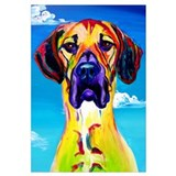 Great dane Wrapped Canvas Art