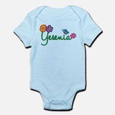 Yesenia Flowers Infant Bodysuit