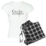 Celtic Sword Design Women's Light Pajamas