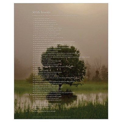 All 50 (tree) Framed Print
