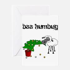 Baa Humbug Greeting Card