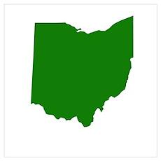 Green Ohio Poster