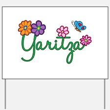 Yaritza Flowers Yard Sign