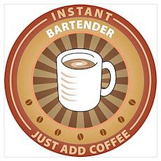 Instant Bartender Poster