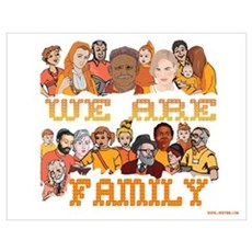Jewish We Are Family Poster