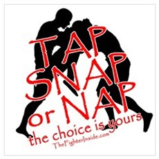 Tap Snap or Nap Poster