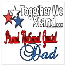 National Guard Father Poster