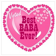 Best Baba Ever Canvas Art