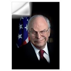 MEAN DICK CHENEY Wall Decal