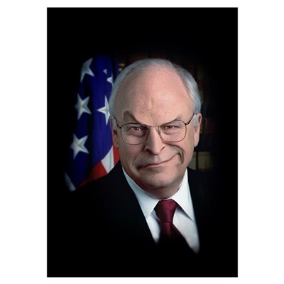 MEAN DICK CHENEY Poster