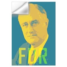 Franklin Roosevelt Wall Decal