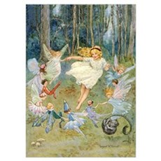 DANCING IN THE FAIRY RING Poster