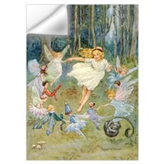 DANCING IN THE FAIRY RING Wall Decal