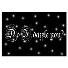 Twilight Do I Dazzle You Canvas Art