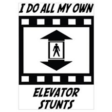 Elevator Stunts Poster