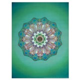 Mandala Wrapped Canvas Art