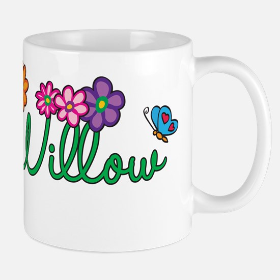 Willow Flowers Mug