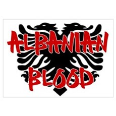 Albanian Blood Poster