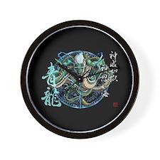 Green Dragon Sacred Clock