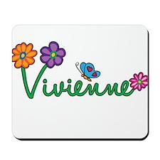 Vivienne Flowers Mousepad